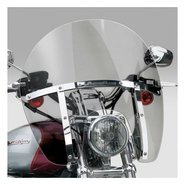 N. Cycles Switchblade Chopped Windshield getönt f. Harley-Davidson XL, FXD 88-19
