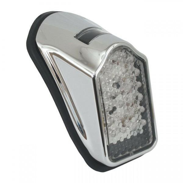 Rücklicht Mini Tombstone klar, LED, für Harley-Davidson mit E-Prüfzeichen