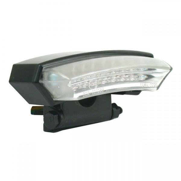Rücklicht Monza Schwarz, LED, für Harley-Davidson mit E-Prüfzeichen