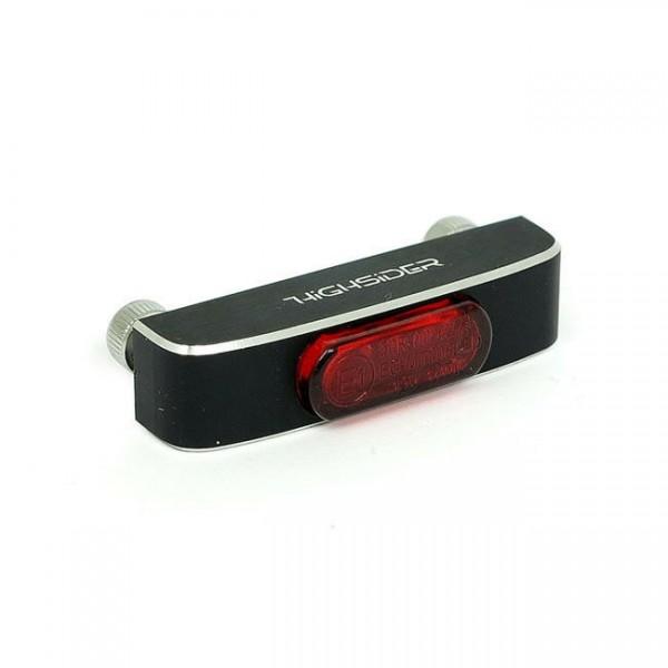 Rücklicht Conero rot, LED, für Harley-Davidson mit E-Prüfzeichen