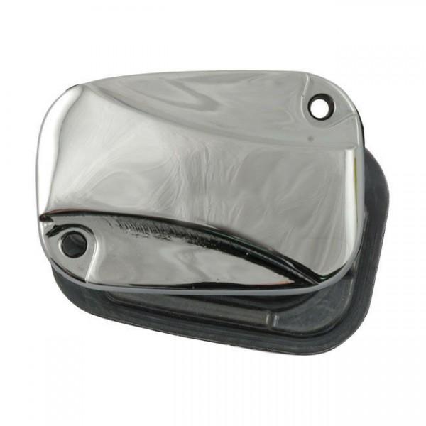 Bremsflüssigkeitsbehälter Deckel Dogbone Chrom f. Harley-Davidson Touring 08-13