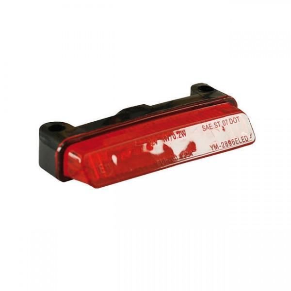 Rücklicht Donovan, rot, LED, für Harley-Davidson mit E-Prüfzeichen