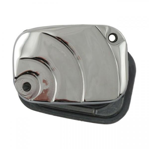 Bremsflüssigkeitsbehälter Deckel Rainbow Chrom f. Harley-Davidson Touring 08-13