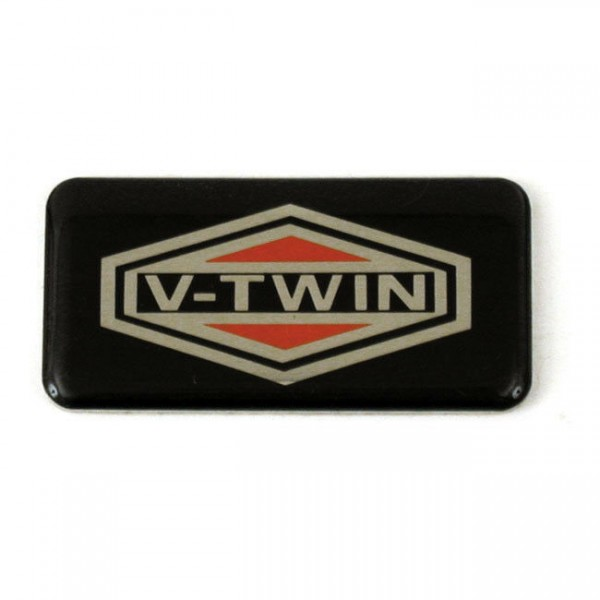 Bremsflüssigkeitsbehälter Deckel V-Twin nur Inlay (!) für Harley-Davidson 72-81