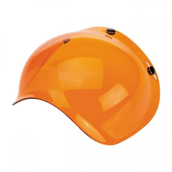 Biltwell Bubble Visier, orange, für Jethelme / Antibeschlag!