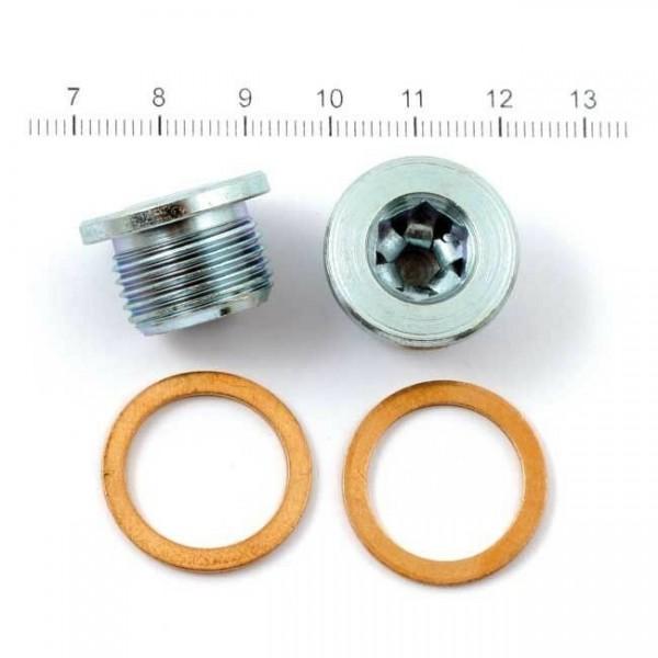 Vance & Hines Krümmer Schrauben Sensor Plugs Stopfen M18, f. Harley - Davidson