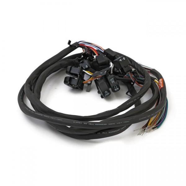 Schalter Set LED für Armaturen Schwarz Tempomat f. Harley-Davidson Touring 07-13