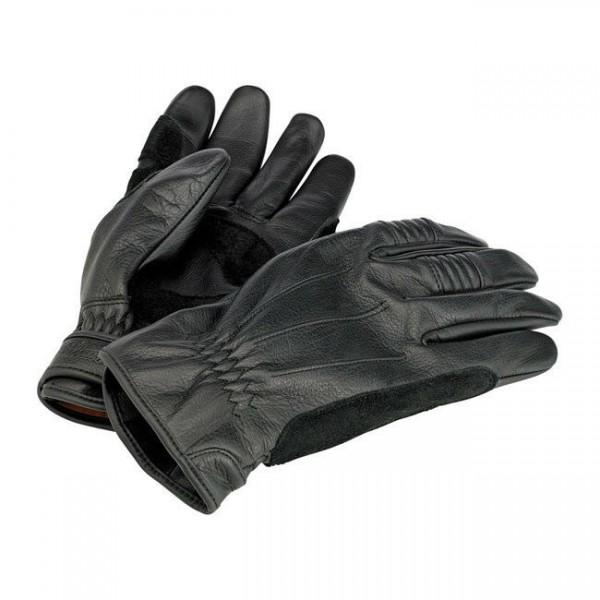 Biltwell Work Motorrad Handschuhe, Echtleder, schwarz Größe XXL