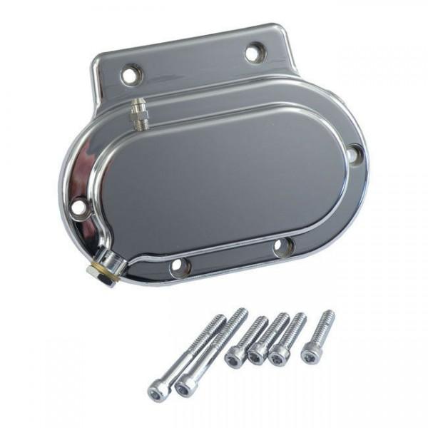Getriebedeckel hydraulische Kupplung 11/16, Chrom, f. Harley-Davidson BT 87-06