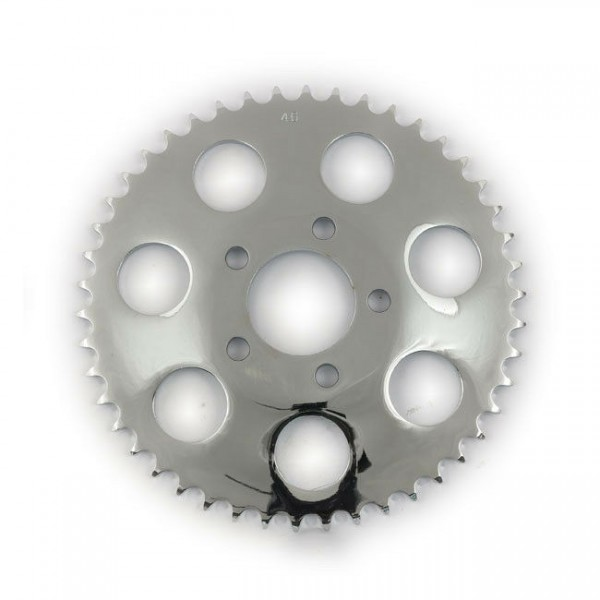 Kettenrad, Ritzel, Sprocket 46 Z. 6,5 Versatz f. Harley-Davidson B.T., XL 00-17