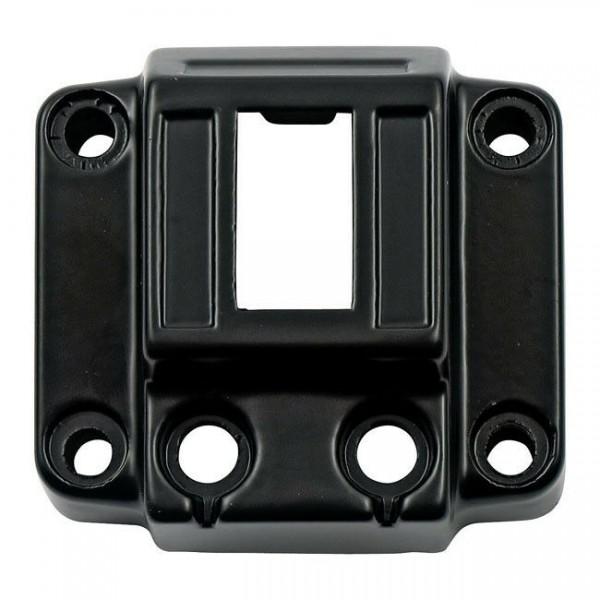 Schaltergehäuse Vertical Schwarz, für Harley - Davidson FL, FX, XL 72-81