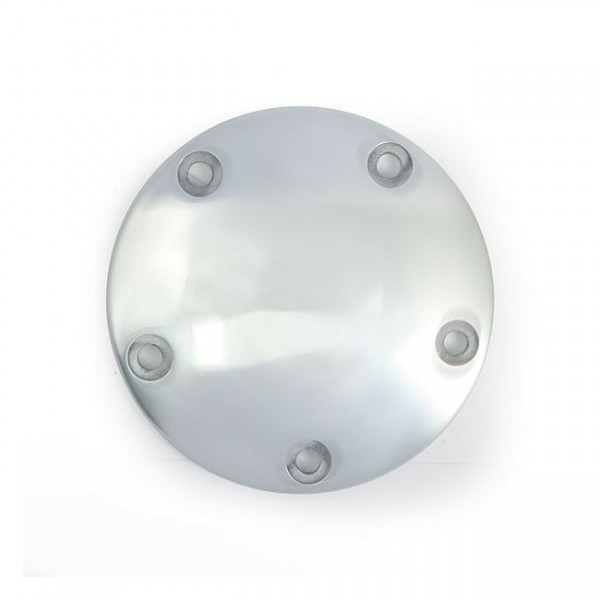Zündungsdeckel Point Cover Domed Alu, f. Harley - Davidson Big Twin 99 - heute