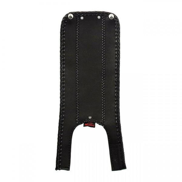 Mustang Dash Panel, Tacho Tank Abdeckung Leder, f. Harley-Davidson Softail 00-17