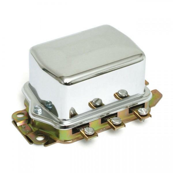 Accel Lichtmaschinenregler mechanisch 12V, Chrom, für Harley-Davidson 65-77