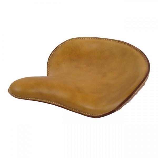 Solo Sitz Bobber WLC Style, Echtleder beige, für Harley - Davidson