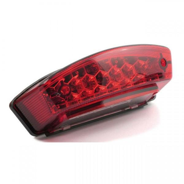 Rücklicht Monster Rot LED, für Harley-Davidson mit E-Prüfzeichen