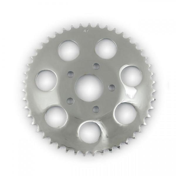 Kettenrad Ritzel Sprocket 51 Zähne Chrom für Harley-Davidson B.T. 73-85 XL 79-81