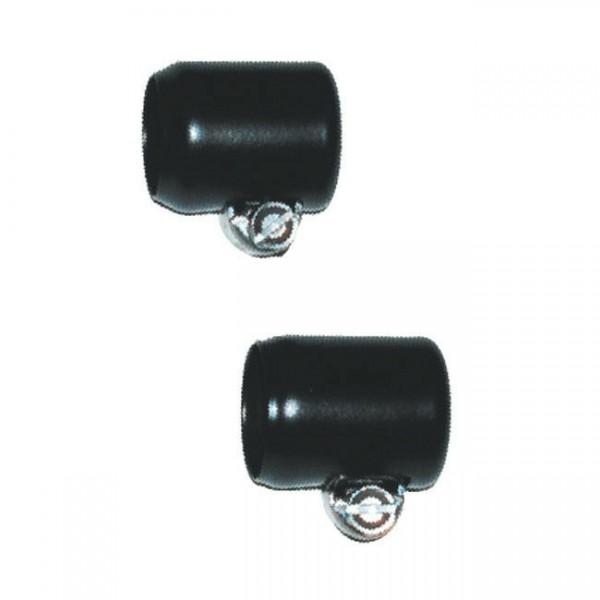 Namz Schlauchschelle, Hose Clamp schwarz für Benzinleitung, für Harley Davidson