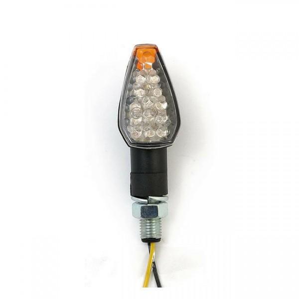 Blinker Peak, Schwarz, LED, für Harley-Davidson mit E-Prüfzeichen!