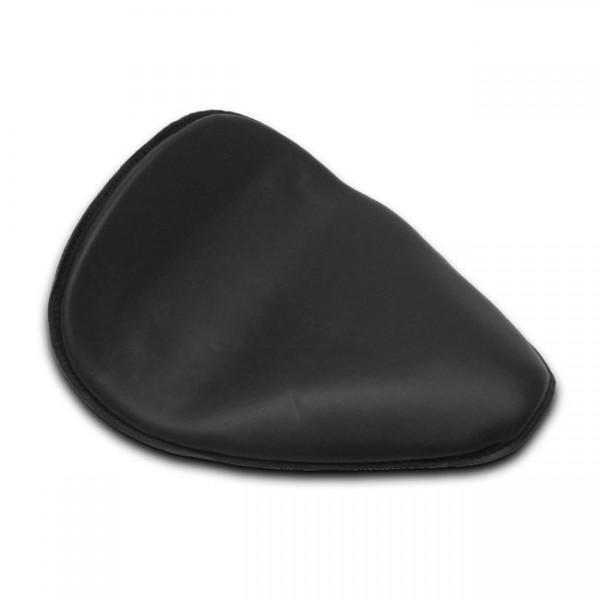 Solo Sitz Leder Low Profile, lang, Schwarz, für Harley - Davidson