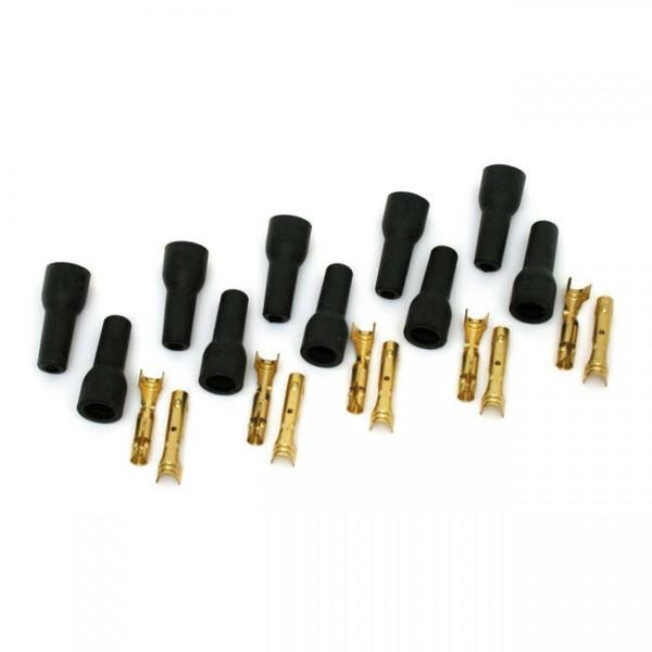 Accel Zündkerzen-Stecker für 8.8-9mm Zündkabel,schwarz, für Harley-Davidson
