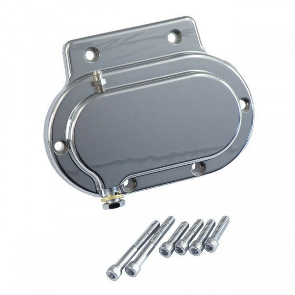 Getriebedeckel hydraulische Kupplung 9/16, Chrom, für Harley-Davidson BT 87-06