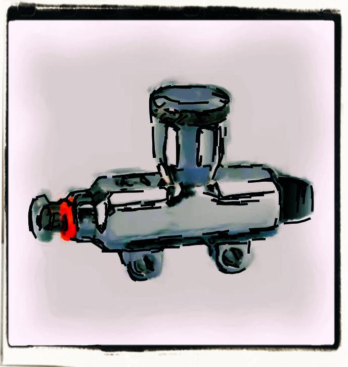 balikha Universal Motorcycle Hinterradbremse Hauptbremszylinder /Ölbeh/älter Tank Cup