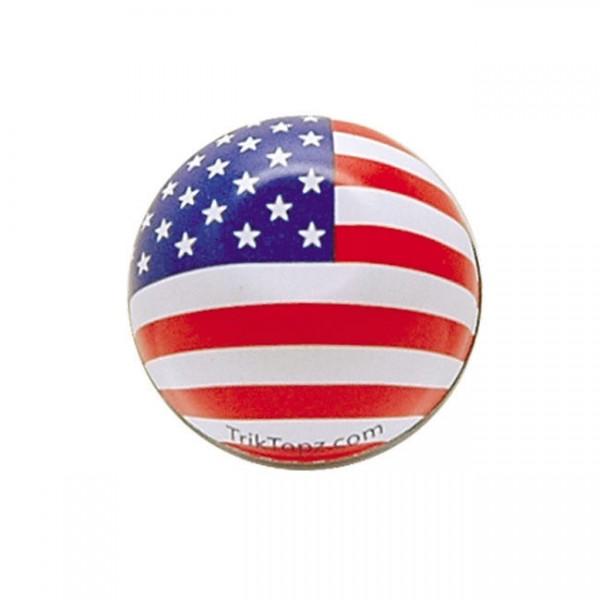 Trik Topz Ventilkappen, US Flagge, für Harley - Davidson