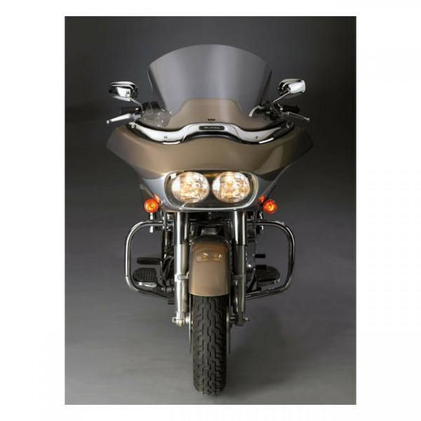 """National Cycles Windshield V-Stream 15,25"""" klar, f. Harley-Davidson FLTR 98-13"""