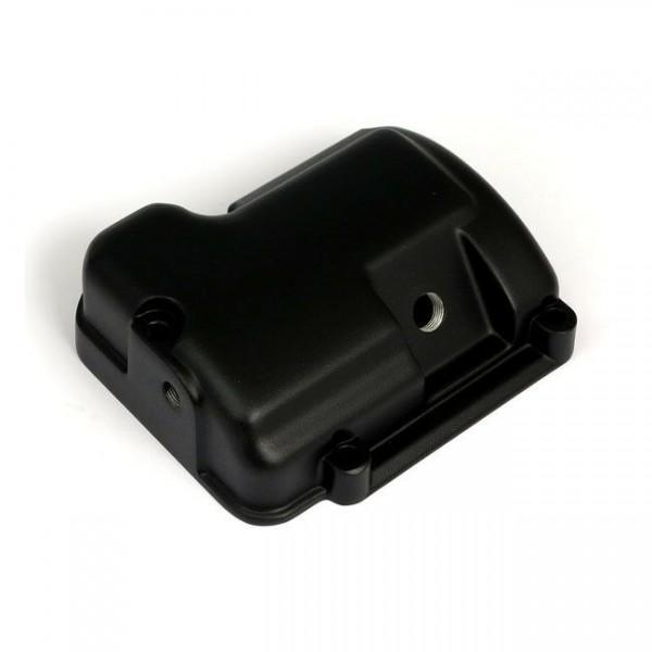 Getriebedeckel Oben, Schwarz, für Harley-Davidson Softail, FLT 00-06