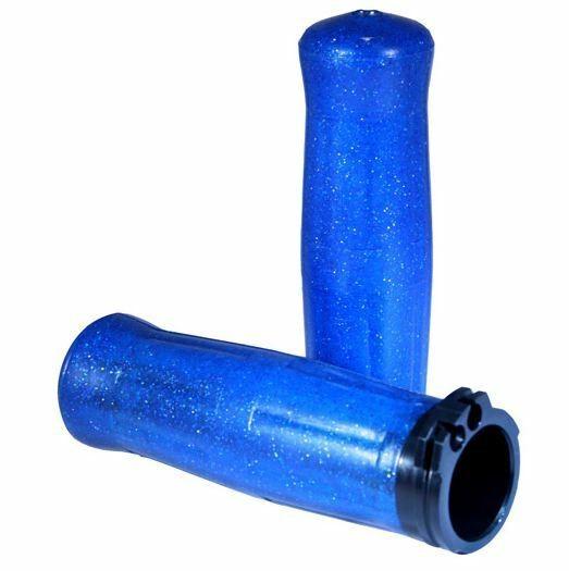 Avon Old School Griffe, Coke Bottle Design blau Metalflake, für Harley