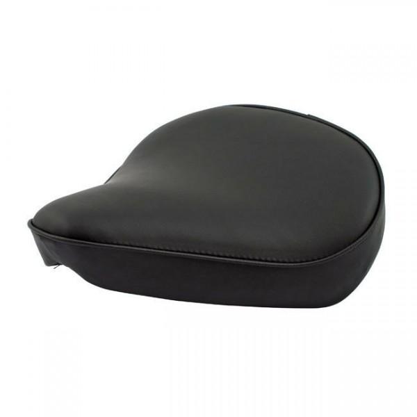 Solo Sitz Federsattel, breit, schwarz, für Harley - Davidson