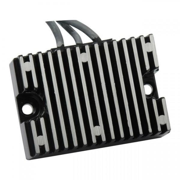 Transpo Lichtmaschinenregler, Schwarz, für Harley-Davidson 70-75 FL, FX