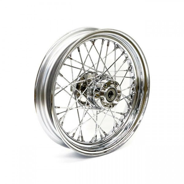 """Speichenrad Chrom, 3x16"""", für Harley-Davidson Touring 08-17 (mit ABS)"""