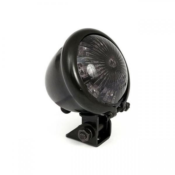 Rücklicht BATES LED's schwarz, Glas getönt, Harley