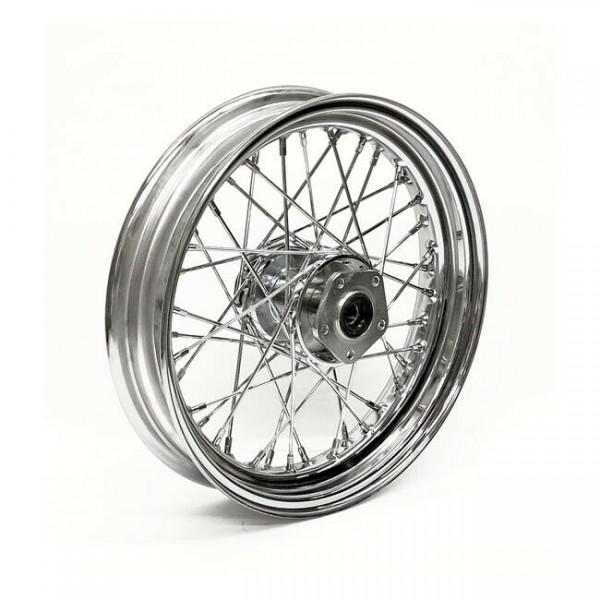 """Speichenrad Chrom, 3x16"""", für Harley-Davidson FLST/C/F/N 86-99"""