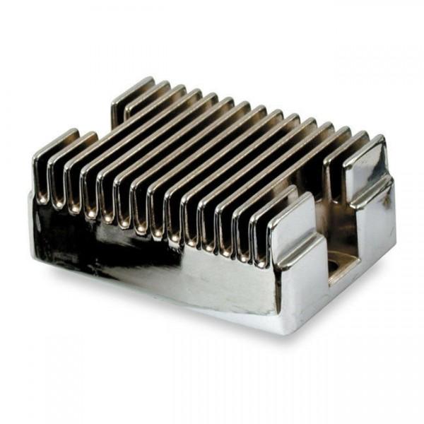 Transpo Lichtmaschinenregler, Chrom, für Harley-Davidson 58-64 XL, Big Twin