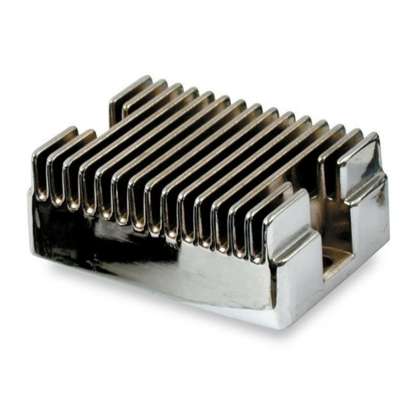 Accel Lichtmaschinenregler, Chrom, für Harley-Davidson 65-69 B.T. 65-77 XL