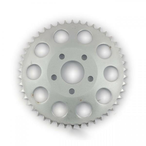 Kettenrad, Ritzel, Rear Sprocket 46 Zähne Zink, für Harley-Davidson FXR 82-85